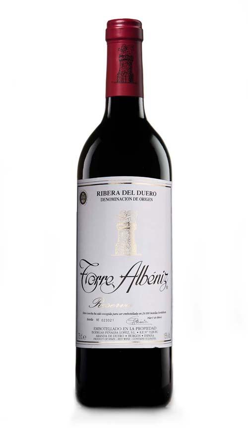 bodega ribera del duero vino torre albeniz